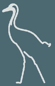 Praxis Johns Heidelberg Kranich grau
